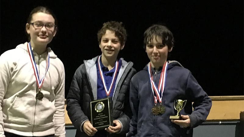 Peabody School Wins First Place in Jefferson Area Math Competition